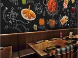 Hand Painted Murals Pricing Free Shipping Chalk Board Hand Painted Fried Chicken Beer Mural