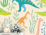 Hand Painted Nursery Wall Murals Dinosaurs In 2019
