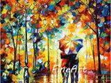Hand Painted Wall Murals Artist 2019 Hand Painted Oil Wall Art Knife Painting Canvas Landscape Leonid Afremov Artist Canvas Painting Reproduction Modern Art Paintings Home Decor From