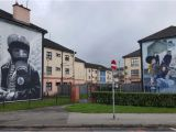 Hand Painted Wall Murals Ireland Battle Of the Bogside Derry Marks 50 Years since Riot that