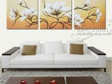 Hand Painted Wall Murals Uk H554 3pcs Hand Painted Oil Canvas Wall Art Home Decor