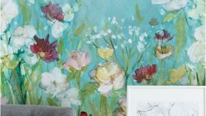 Hand Painted Wall Murals Uk Wildflowers and Lace In 2019