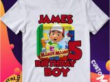 Handy Manny Coloring Pages Handy Manny Iron Transfer Handy Manny Birthday Shirt Handy Manny Shirt Design Handy Manny Printable Handy Manny Personalize Digital