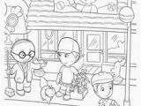 Handy Manny Coloring Pages Handy Manny Party On Pinterest