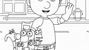 Handy Manny Coloring Pages to Print Handy Manny Coloring Pages for Kids Printable Free