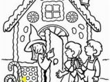 Hansel and Gretel Candy House Coloring Page 119 Best Hansel and Gretel Images On Pinterest