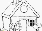 Hansel and Gretel Candy House Coloring Page Coloring Pages Template Part 230