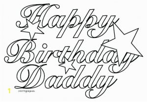 Happy 18th Birthday Coloring Pages 19 Luxury Happy Birthday Dad Coloring Pages