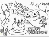 Happy 4th Birthday Coloring Pages Beautiful Happy Birthday Coloring Sheets Coloring Pages