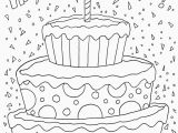 Happy 4th Birthday Coloring Pages Happy Birthday Pages to Color Unique Happy 4th Birthday Coloring