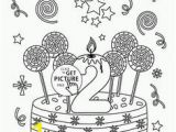 Happy 6th Birthday Coloring Pages 221 Best Coloring Cake S Images On Pinterest In 2019