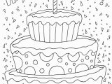 Happy 6th Birthday Coloring Pages Free Printable Happy Birthday Coloring Pages for Kids to Print