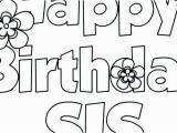 Happy B Day Coloring Pages Happy Birthday Colouring Pages for Dad Big Sister Coloring Pages
