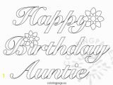 Happy Birthday Aunt Coloring Pages Awesome Birthday Coloring Pages for Aunts Heart Coloring Pages