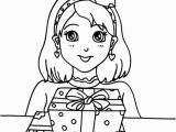Happy Birthday Coloring Pages Disney Preety Girl Birthday Party Coloring Pages Netart