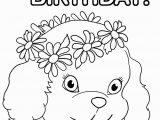 Happy Birthday Coloring Pages for Girls Birthday Girl Coloring Pages Coloring Home