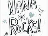 Happy Birthday Coloring Pages for Nana the Best Free Nana Coloring Page Images Download From 61