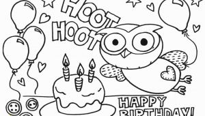 Happy Birthday Coloring Pages Free to Print Free Printable Coloring Pages Birthday