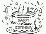 Happy Birthday Coloring Pages Free to Print Happy Birthday Coloring Pages Free Printable