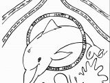 Happy Birthday Coloring Pages Printable Dolphin Coloring Pages for Happy Birthday Coloring Pages