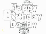 Happy Birthday Coloring Pages Printable Elegant Coloring Pages Birthday Cake for Kids Picolour