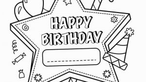 Happy Birthday Coloring Pages Printable Free 25 Free Printable Happy Birthday Coloring Pages