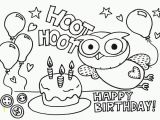 Happy Birthday Coloring Pages Printable Printable Coloring Pages for A Birthday Coloring Home