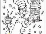 Happy Birthday Dr Seuss Coloring Pages Pin by Colleen On Reading Ela