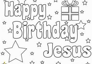 Happy Birthday Jesus Cake Coloring Page Coloring Pages Printable Happy Birthday Lautigamu
