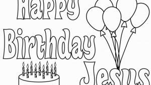Happy Birthday Jesus Cake Coloring Page Happy Birthday Jesus Cake Coloring Page