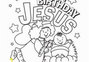 Happy Birthday Jesus Cake Coloring Page Happy Birthday Jesus Coloring Page Preschool Items