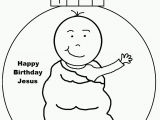 Happy Birthday Jesus Printable Coloring Pages Happy Birthday Jesus Coloring Page Coloring Home