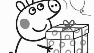 Happy Birthday Peppa Pig Coloring Pages Peppa Pig Happy Birthday Coloring Pages