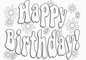 Happy Birthday Uncle Coloring Pages Happy Birthday Coloring Pages Mofassel