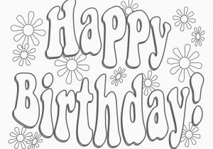 Happy Birthday Uncle Coloring Pages Happy Birthday Coloring Sheet