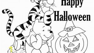 Happy Halloween Coloring Pages Disney Free Disney Halloween Coloring Pages