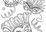 Happy Mardi Gras Coloring Pages Printable Mardis Gras Coloring Page Free Pdf at