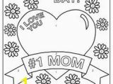 Happy Mothers Day Coloring Pages for toddlers I Love You Mom Crafts Pinterest