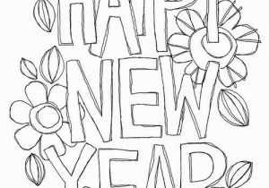 Happy New Year 2018 Coloring Pages Happy New Year Everything Colour Pinterest