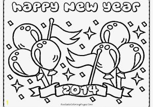 Happy New Year 2018 Coloring Pages New Year 2016 Worksheets Kindergarten
