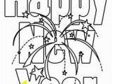 Happy New Year Coloring Pages 2018 27 Best New Year Coloring Pages Images On Pinterest