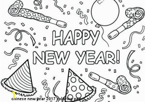 Happy New Year Coloring Pages 2018 Chinese New Year 2017 Coloring Pages Free for Kids Chinese New Year