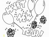 Happy New Year Coloring Pages for toddlers Coloring Pages Of Happy New Year 2014 for Kids Coloring