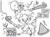 Happy New Year Coloring Pages for toddlers Disney New Year 2016 Coloring Pages