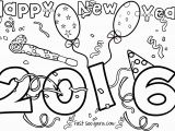 Happy New Year Coloring Pages for toddlers Happy New Year 2016 Printable Coloring Pages Free