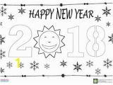 Happy New Year Coloring Pages for toddlers Happy New Year Coloring Page for Kids Archives