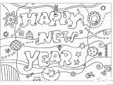 Happy New Year Coloring Pages for toddlers Printable Coloring Pages Happy New Year 2016free Printable
