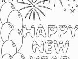 Happy New Year Coloring Pages for toddlers Printable New Year 2018 Coloring Pages