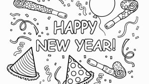 Happy New Year Coloring Pages Printable Happy New Year Printable Coloring Pages Printable