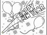 Happy New Year Coloring Pages Printable Happy New Year to Download Coloring Pages Printable